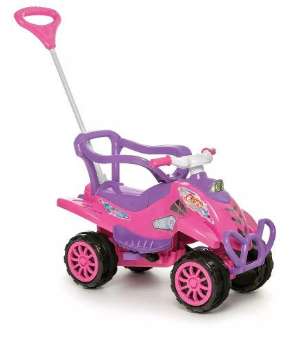 Carrinho De Passeio Ou Pedal Cross Turbo - Pink - Calesita