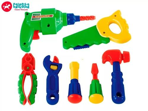 Bancada De Trabalho Calesita Ferramentas Brinquedo Infantil