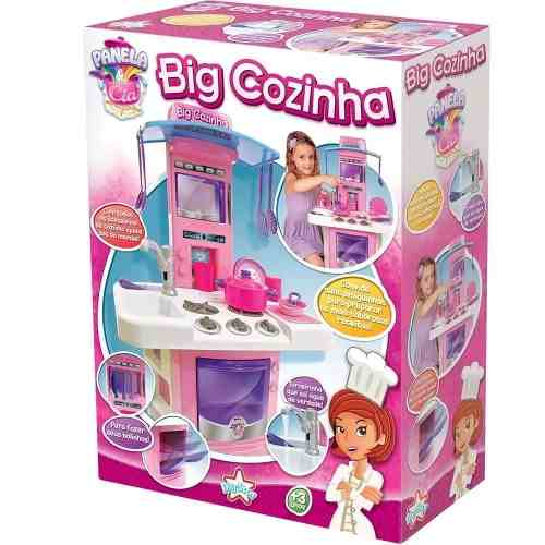 Nova Big Cozinha Big Star Fogão Infantil 3 Anos