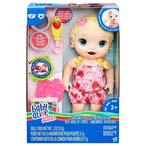 Boneca Baby Alive - Loira - Lanchinho - C2697 - Hasbro