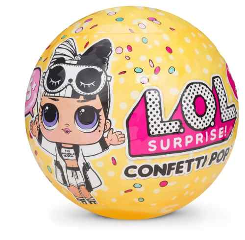 Lol Kit 2 Bonecas Surpresa - 1 Under Wraps + 1 Confetti Pop