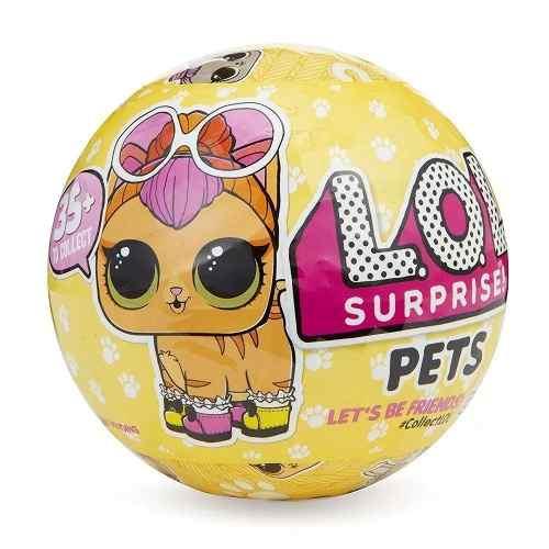 Lol Kit 2 Bonecas Surpresa - 1 Lol Under Wraps + 1 Lol Pets