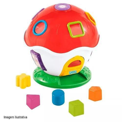 Brinquedo Infantil Com Som E Blocos Little Mush - Calesita