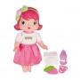 Boneca Baby Moranguinho Faz Xixi Com Acessórios - Mimo 4006