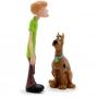 Boneco Scooby Doo E Salsicha Em Vinil - Angel 9076