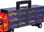 Caminhão Cegonha Maleta com 12 Carrinhos - Braskit