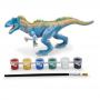 Brinquedo Dinossauro Dino Para Colorir Tiranossauro Xplast