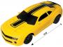 Carrinho de Controle Remoto Camaro Amarelo 18cm - Polibrinq