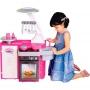 Cozinha Infantil Classic Fogão Pia Geladeira Cotiplas 1601