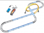 Pista de Carrinho Corrida Super Sônica - Polibrinq Car016