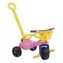 Triciclo Fofinha Empurrador  Proteção E Cestinha - Xalingo