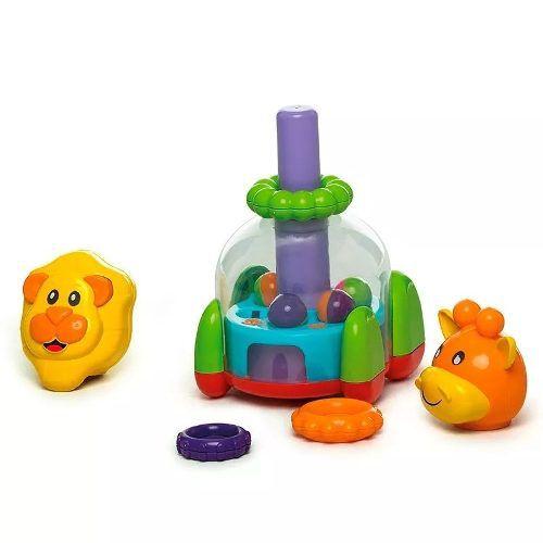 Brinquedo Educativo Didático Para Bebê Baby Mix Calesita 863