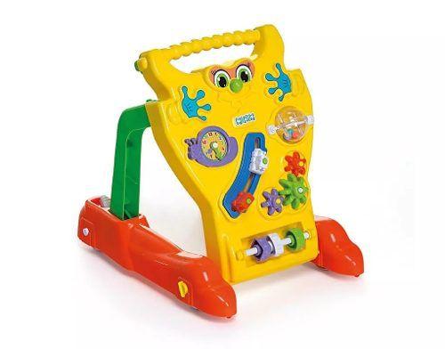 Andador Feliz Brinquedo Didatico Bebê Infantil Calesita 902