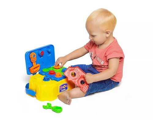 Caixa De Ferramentas Tool Kids - Calesita 885