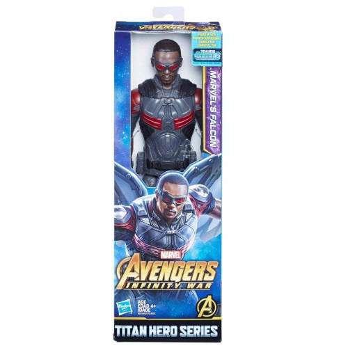 Avengers Figura 12 Titan Hero Power Fx Marvel's Falcon - E21