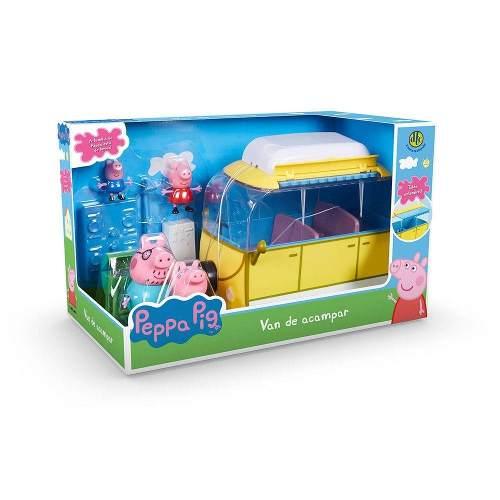 Peppa Pig Van De Acampar 4855 - Dtc