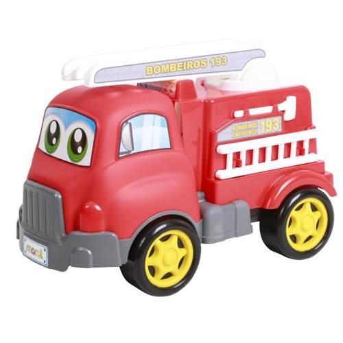 Caminhão De Bombeiros Em Ação Turbo Truck Maral Brinquedos