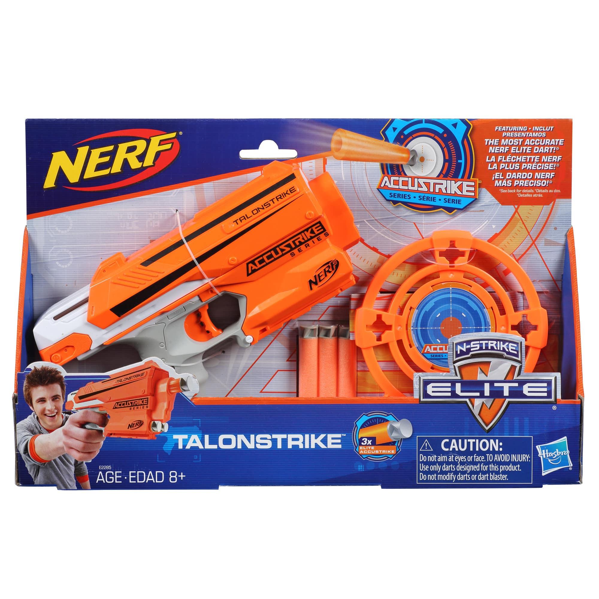 Nerf  Lançador de Dardos Com Alvo Talonstrike - Hasbro
