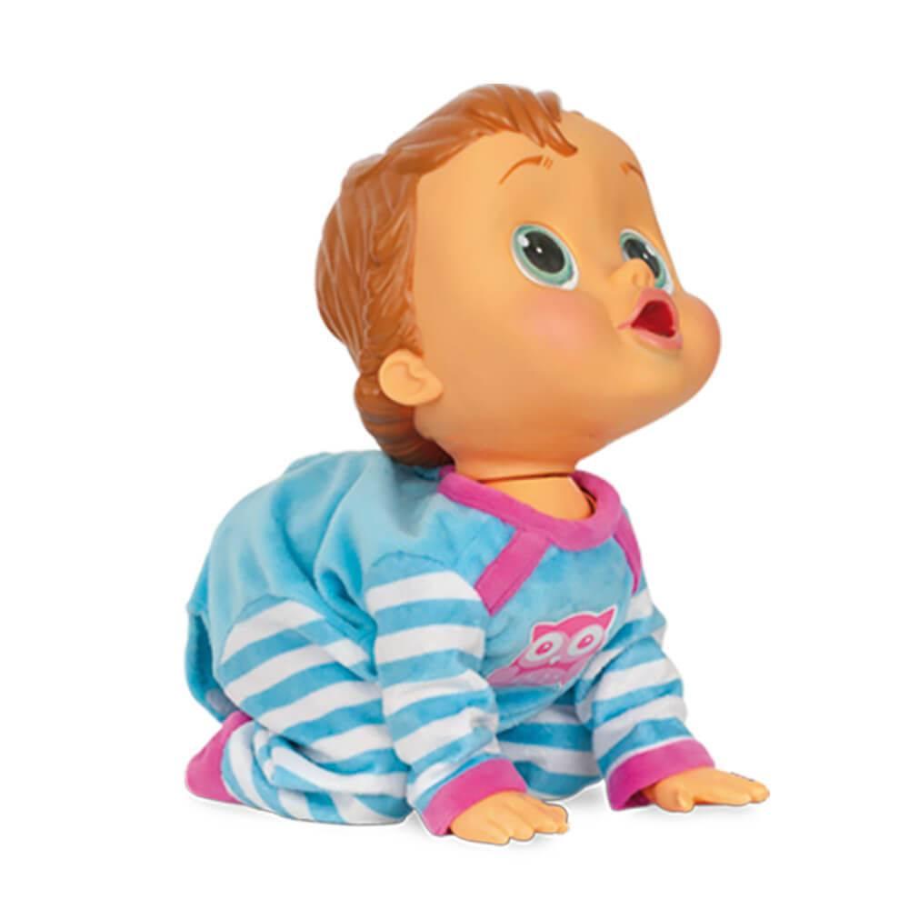 Baby Wow Boneca Que Engatinha  e Fala - Multikids