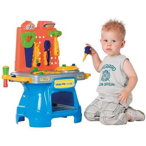 Bancada de Ferramentas de Brinquedo Mini Mechanic - Caleista