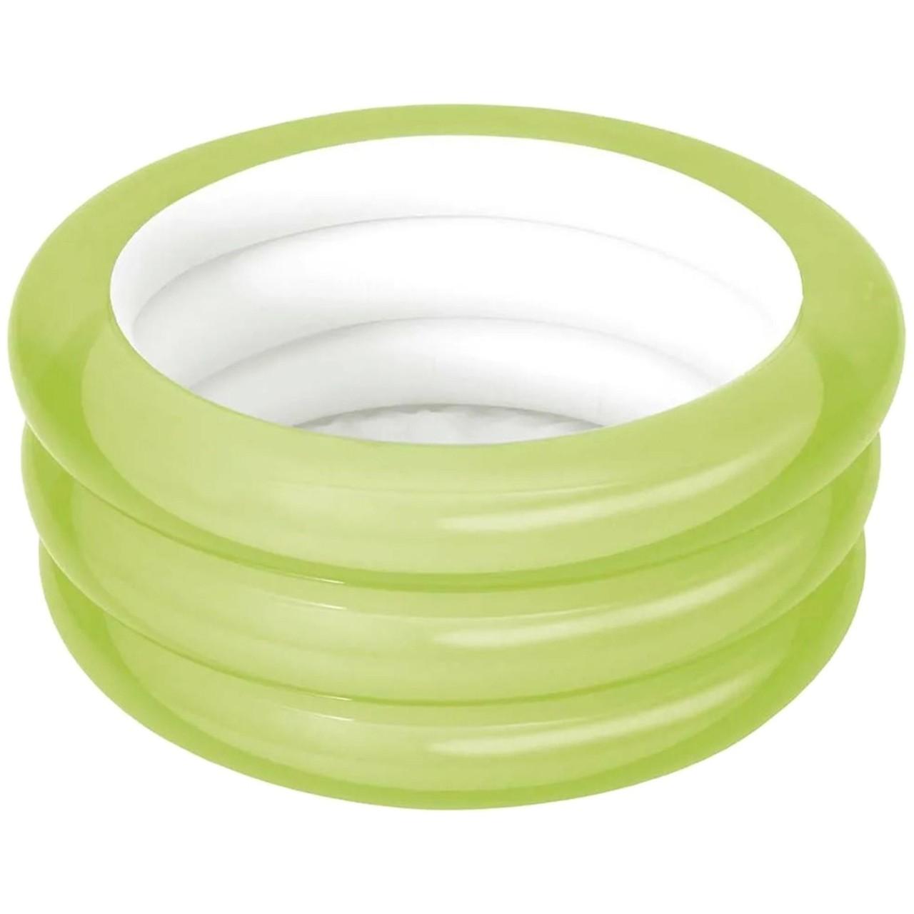 Banheira Infantil Piscina Inflável Verde 80 Litros Mor