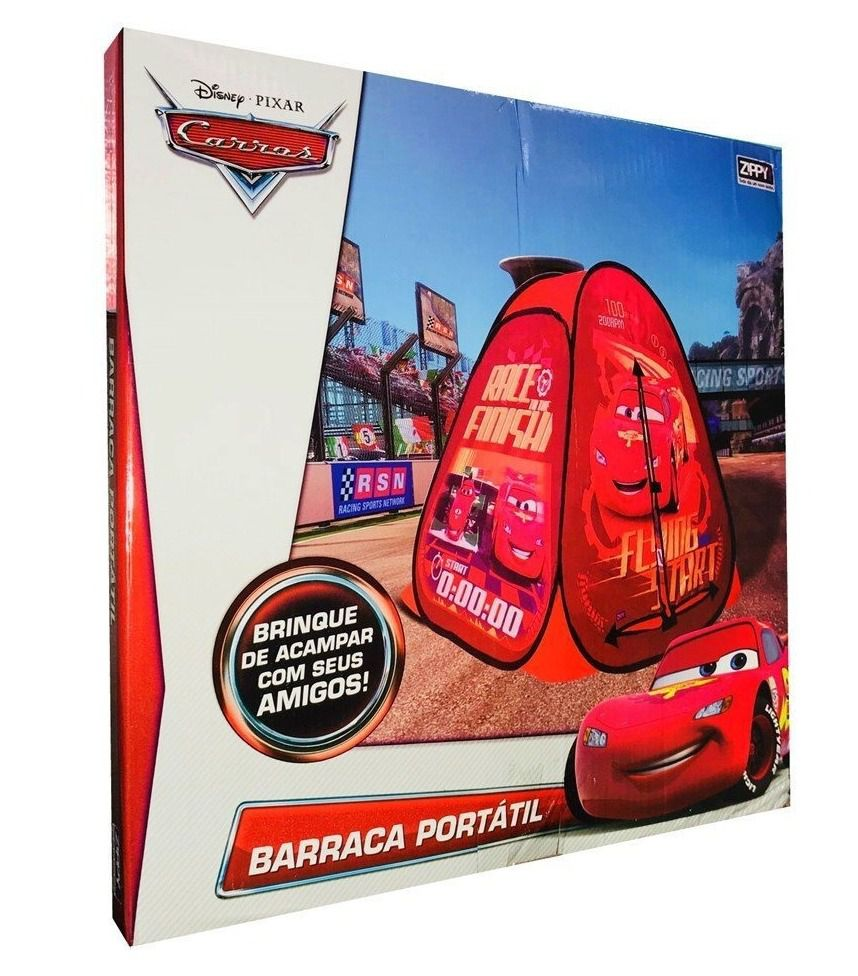 Barraca Infantil Carros Mcqueen Pop-up - Zippy Toys