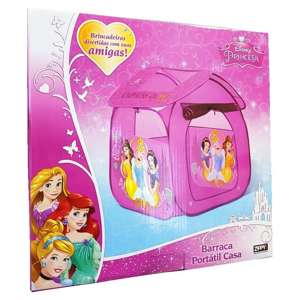 Barraca Infantil Casa das Princesas Disney - Zippy Toys