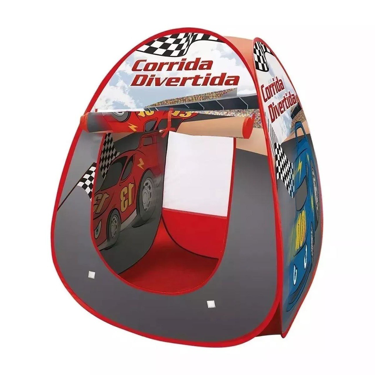 Barraca Infantil Toca Corrida Divertida - Dm Toys 4691