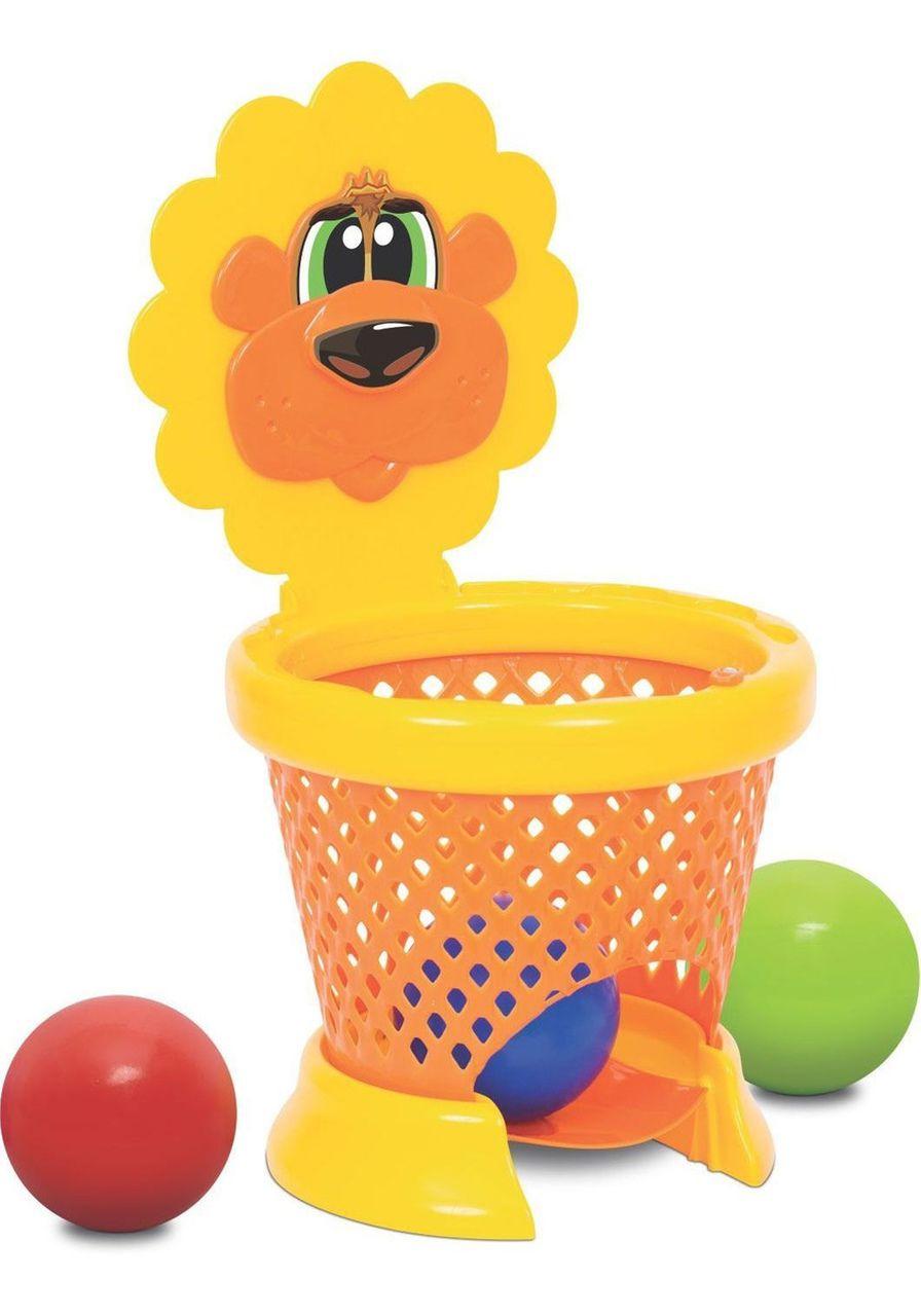Basketball Baby Cesta Basquete Didático Com Alça - Mercotoys
