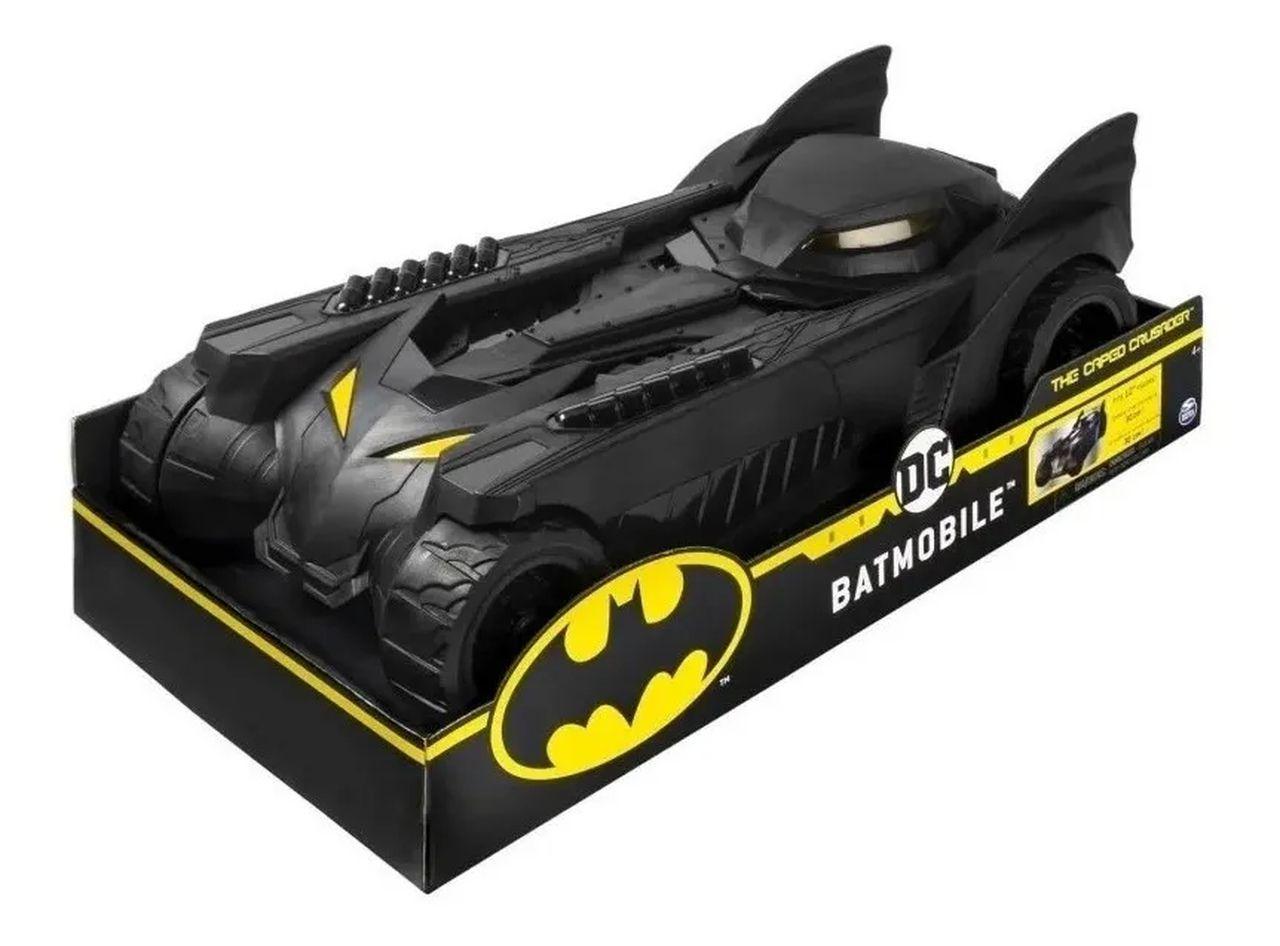 Batmovel Carro Do Batman Dc Comics 40cm - Sunny 2188