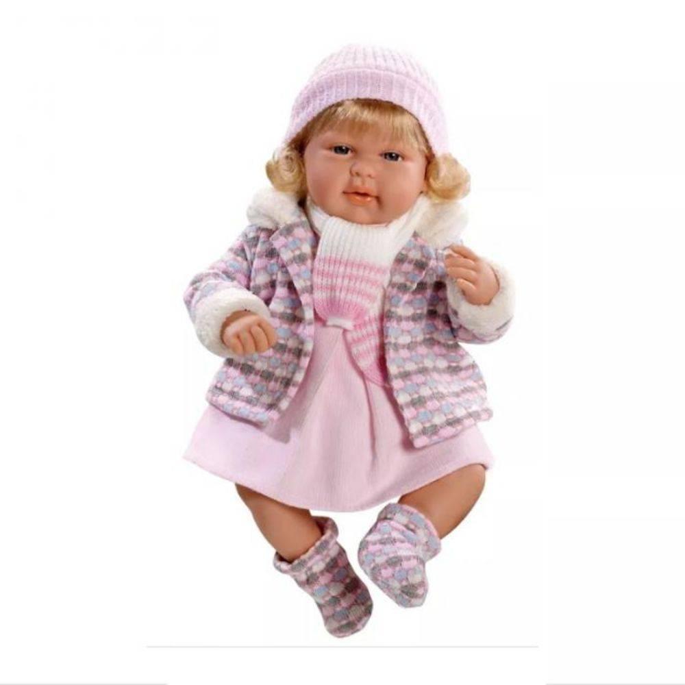 Bebe Reborn Menina July Lorinha Elegance Baby Brink 1309