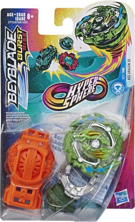 Beyblade Dante Burst Rise  Ace Dragon D5 Verde Hasbro