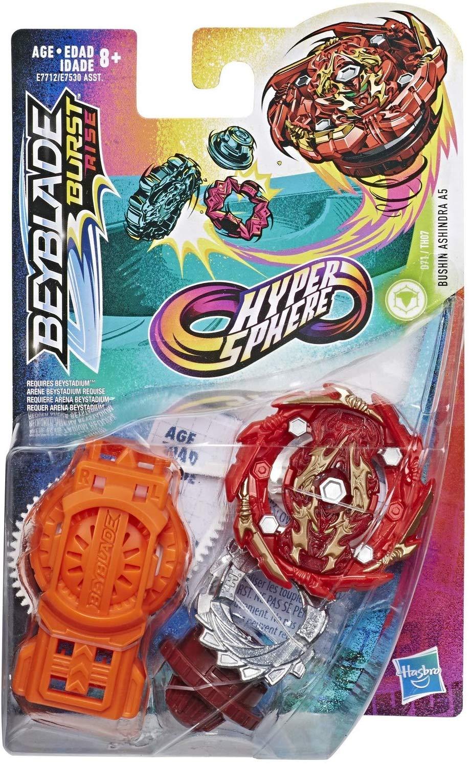 Beyblade  Shu Burst Rise Bushin Ashindra Hypersphere Hasbro