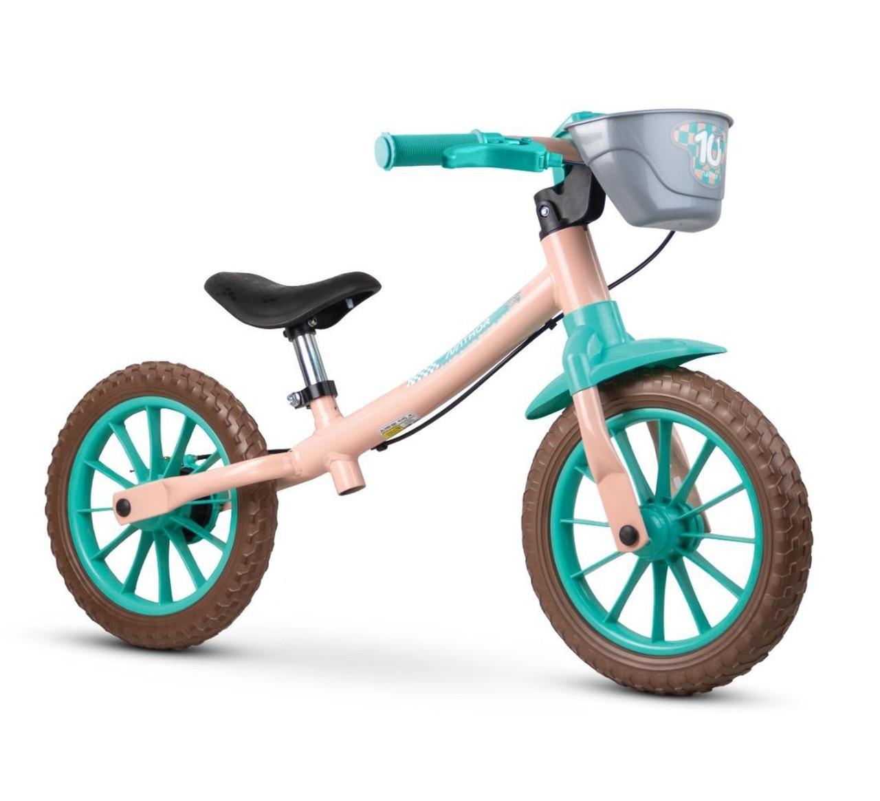 Bicicleta Equilíbrio Sem Pedal Balance Love - Nathor
