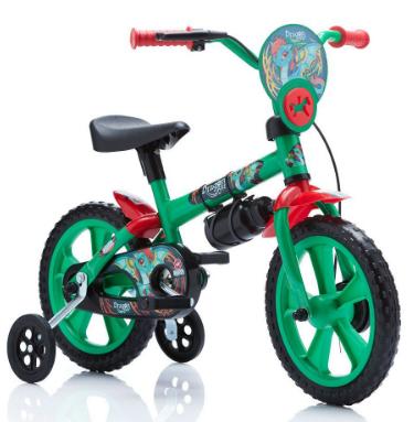 Bicicleta Infantil Aro 12 Dragon Bike - Ta Te Ti Calesita