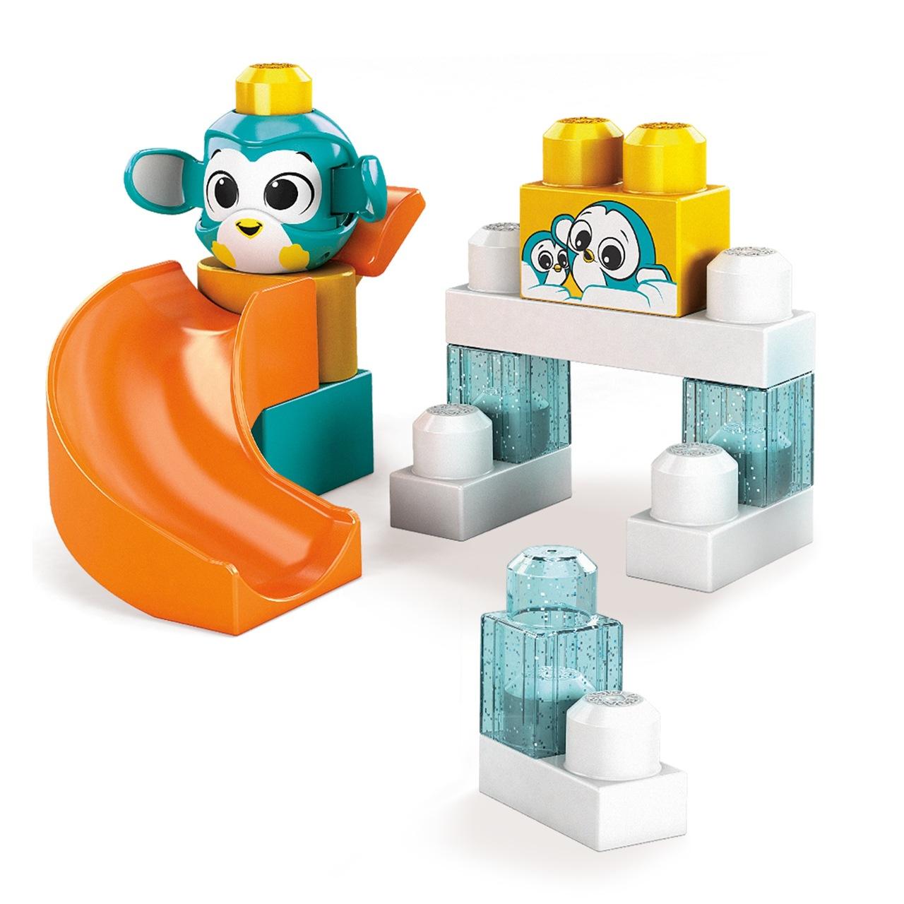 Blocos De Montar Fisher Price Tobogã Dos Pinguins - Mattel