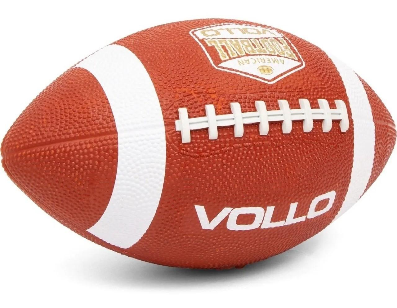 Bola De Futebol Americano Marrom (7) - Vollo Vf003