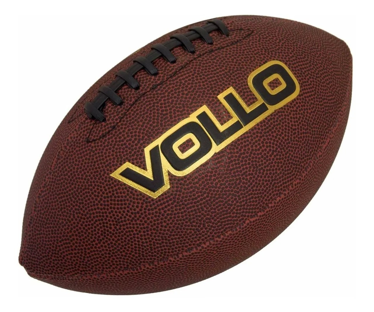 Bola De Futebol Americano Marrom Original (9) - Vollo Vf001