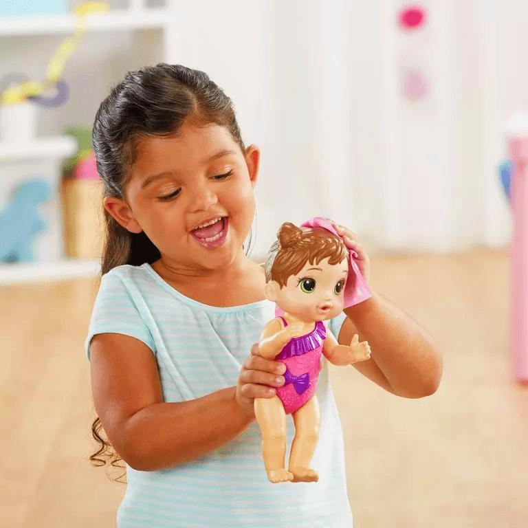 Boneca Baby Alive Bebê Banhos Carinhosos Morena - Hasbro