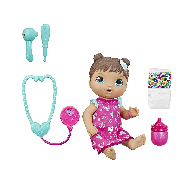 Boneca Baby Alive Cuida de Mim Morena E5837 - Hasbro