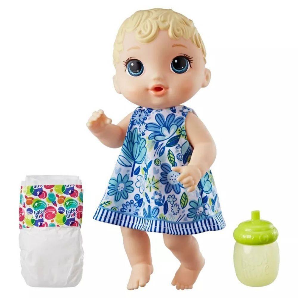 Baby Alive Boneca Hora Do Xixi Loira Original - Hasbro E0385