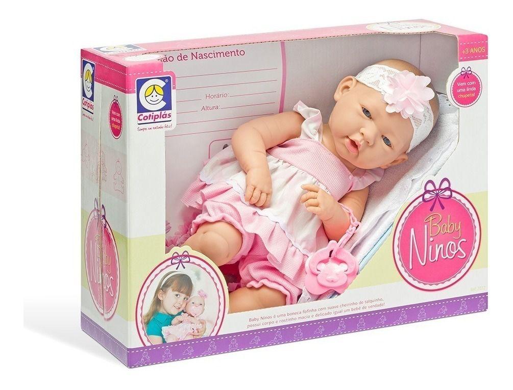 Boneca Baby Ninos Newborn Cotiplás - 2032