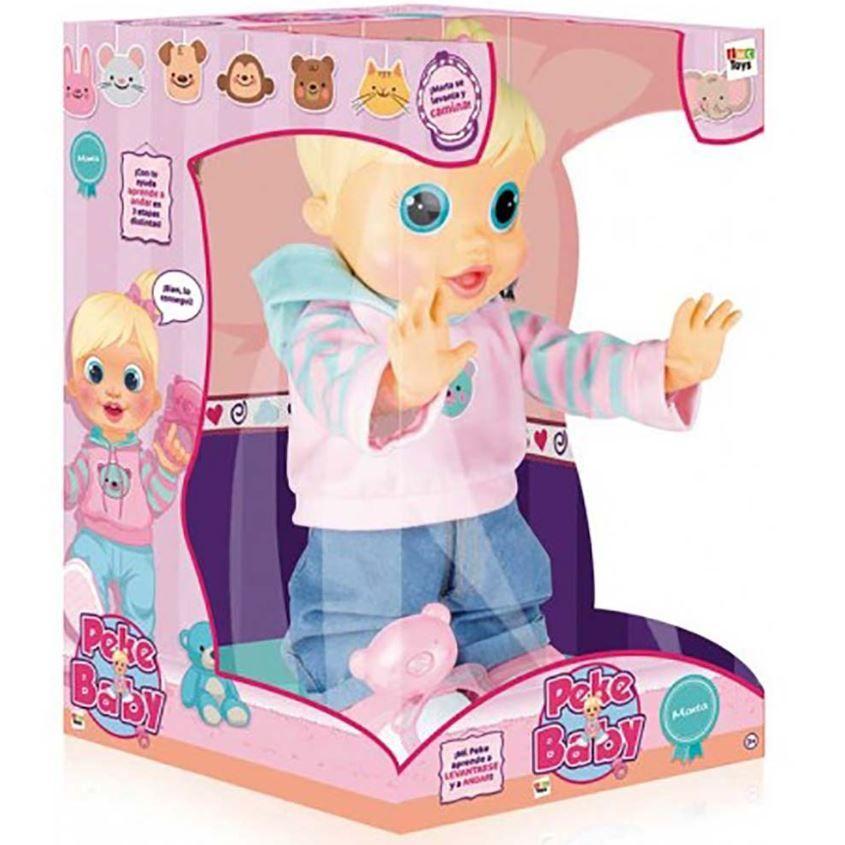 Boneca Baby Wow Malu Fala + de 100 Frases e Anda Multikids