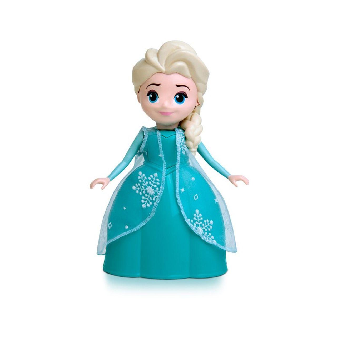 Boneca Elsa Frozen 24cm Com Falas - Elka