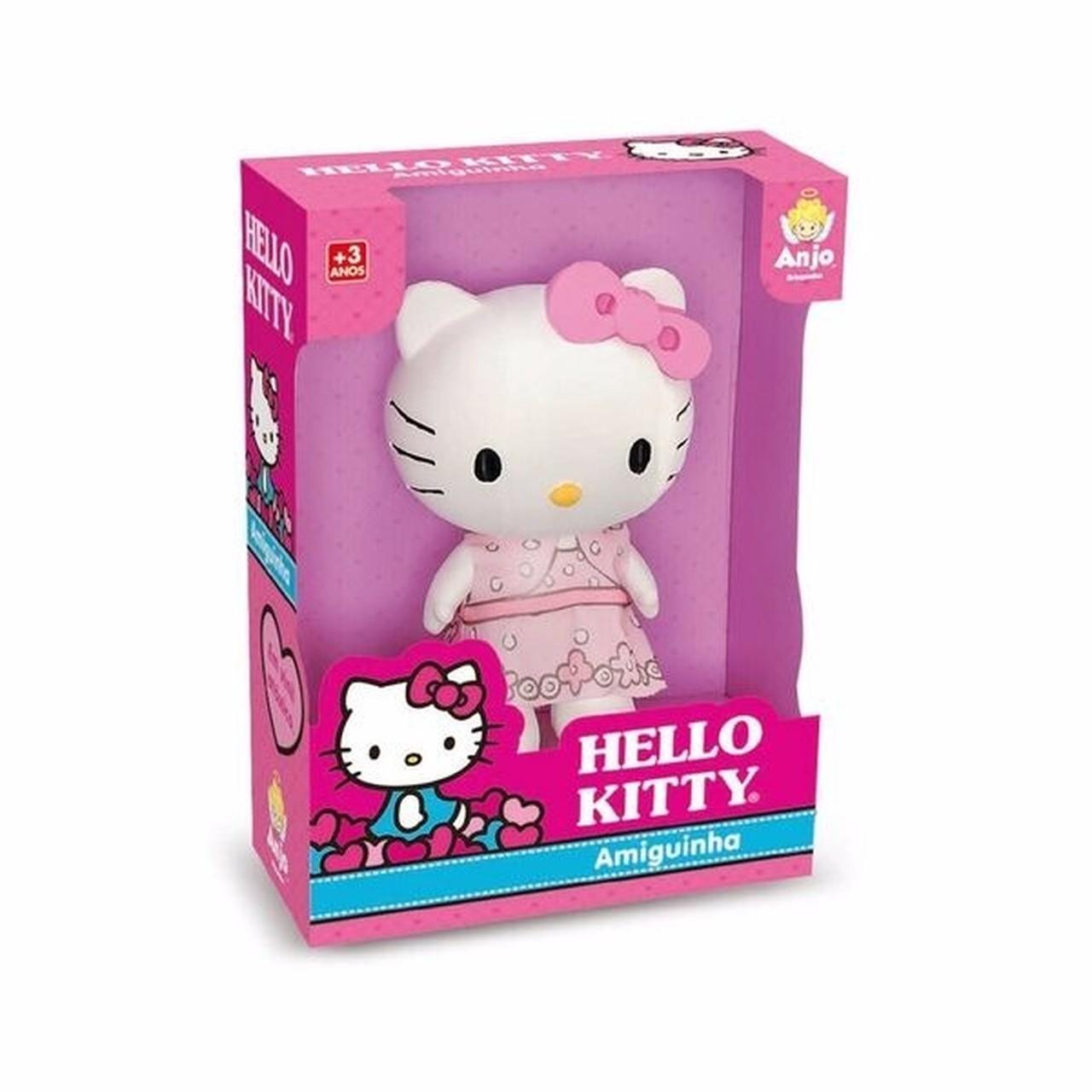 Boneca Hello Kitty Amiguinha 18 cm - Angel Toys