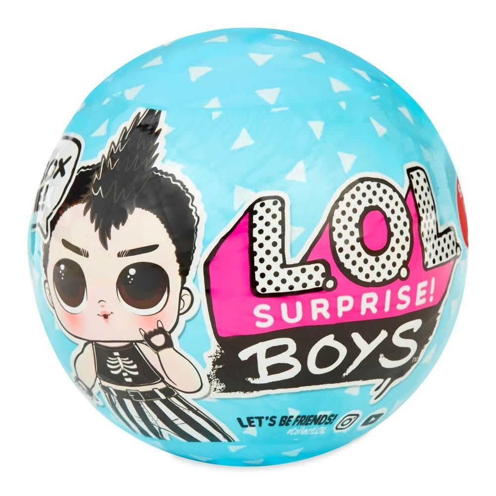 Boneca Lol Boy Surprise 7 Surpresas Original - Candide