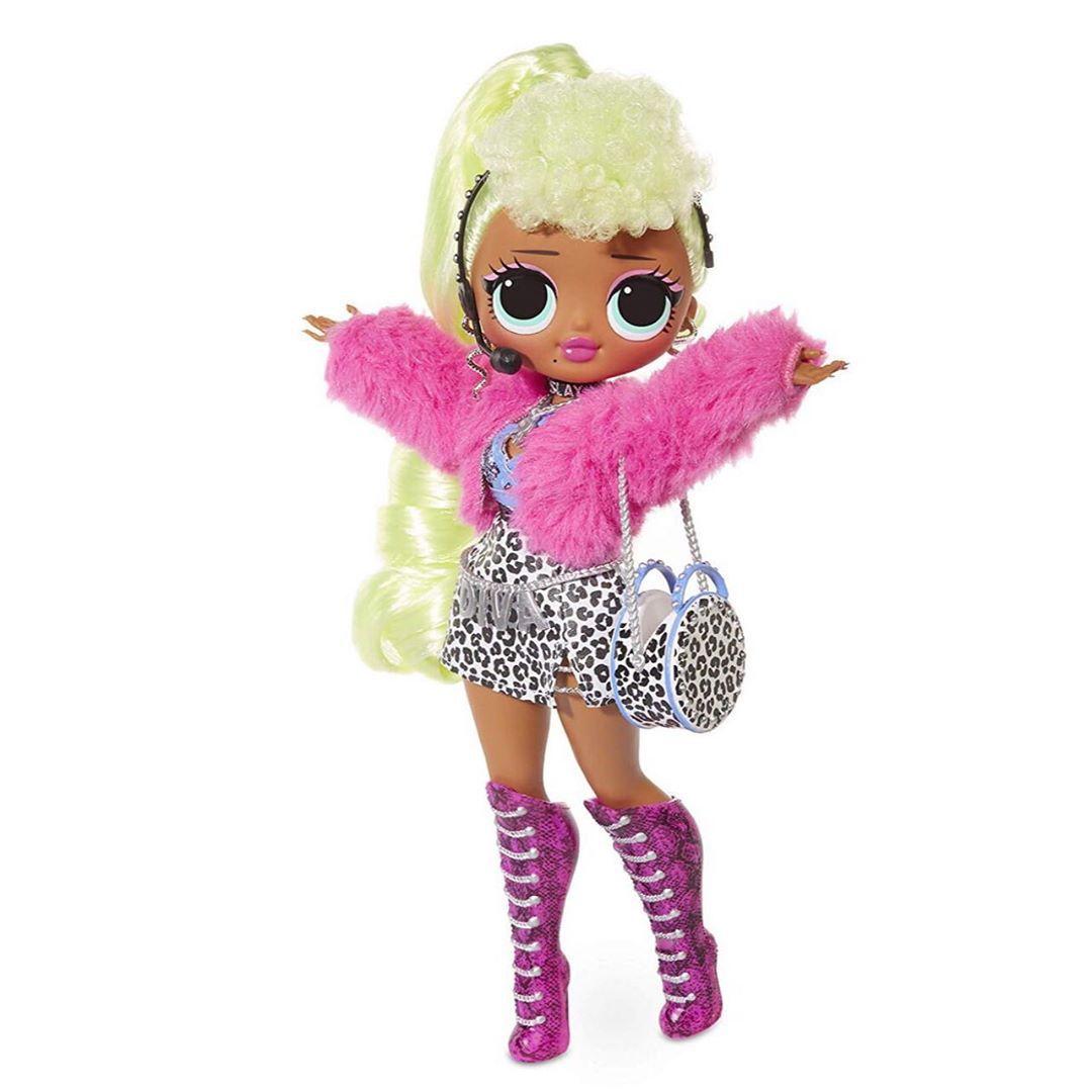Boneca Lol Surprise Omg Lady Diva Fashion Doll