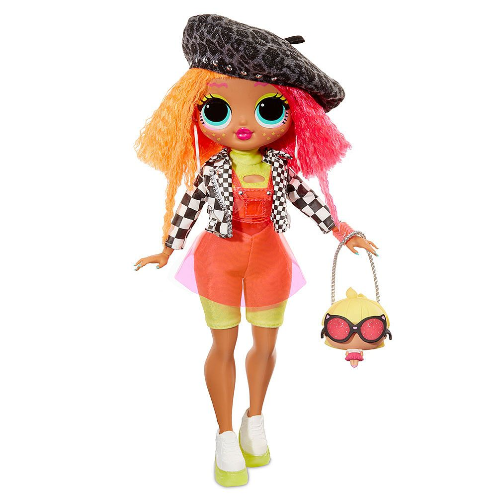 Boneca Lol Surprise Omg Neoncilious Fashion Doll