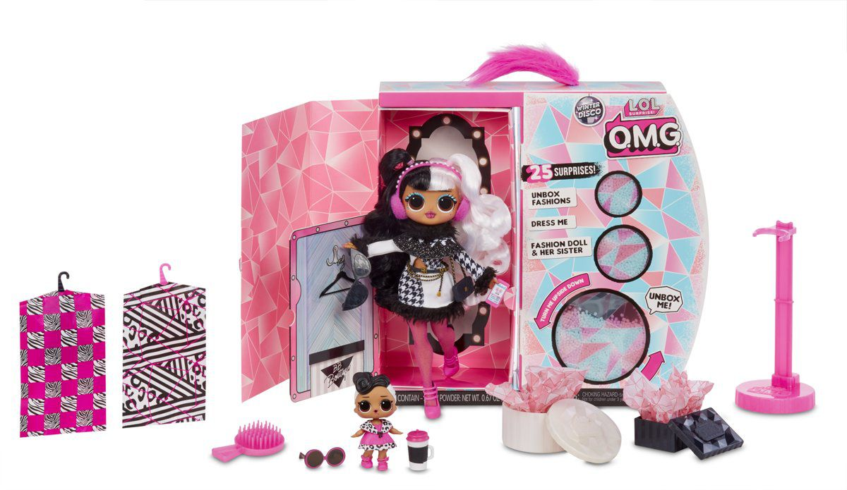 Boneca Lol Surprise Omg Winter Disco Dollie 25 Surpresas