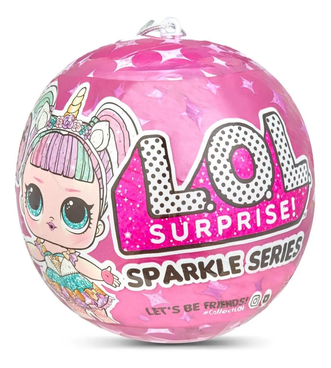 Boneca Lol Surprise Sparkle Séries Glitter 7 Surpresas - Candide